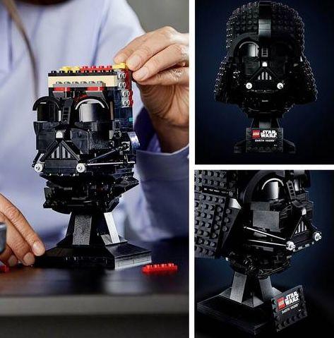 LEGO Star Wars Darth Vader Helm (75304) für 43,99€ (statt 54€)