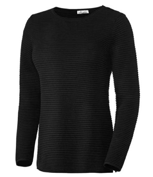 Emilia Parker Damen Relief Pullover aus Baumwolle für 29,49€ (statt 40€)