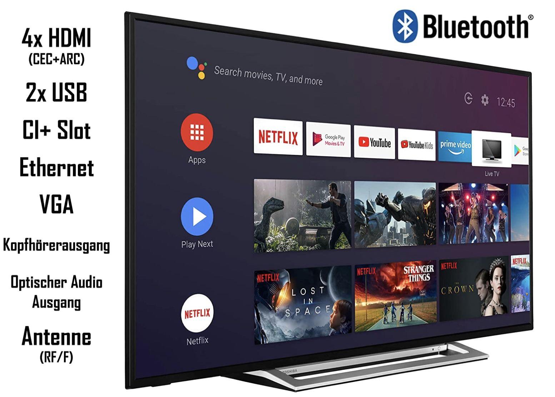 Toshiba 50UA3A63DG   50 Zoll UHD Fernseher für 299€ (statt 420€)