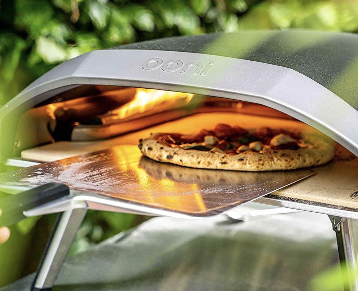 Ooni Pizzaheber 12 in Silber/Schwarz für Pizzen bis ca. Ø 30cm für 27,90€ (statt 38€)