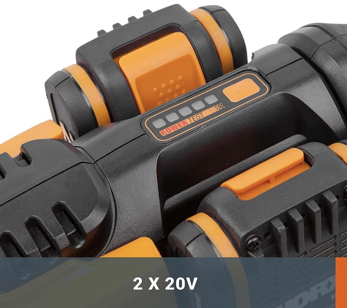 Worx WG284E Akku Heckenschere mit 2x20V Akku & Ladegerät für 158,75€ (statt 219€)