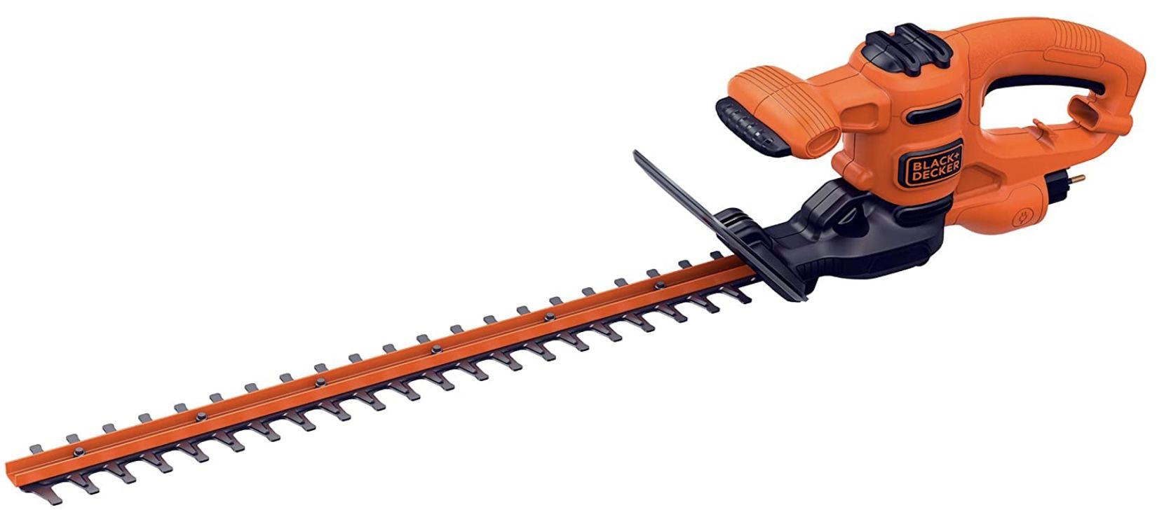 Black & Decker BEHT251 QS Elektro Heckenschere mit 50 cm Schwertlänge & 18 mm Schnittstärke für 51,89€ (statt 60€)