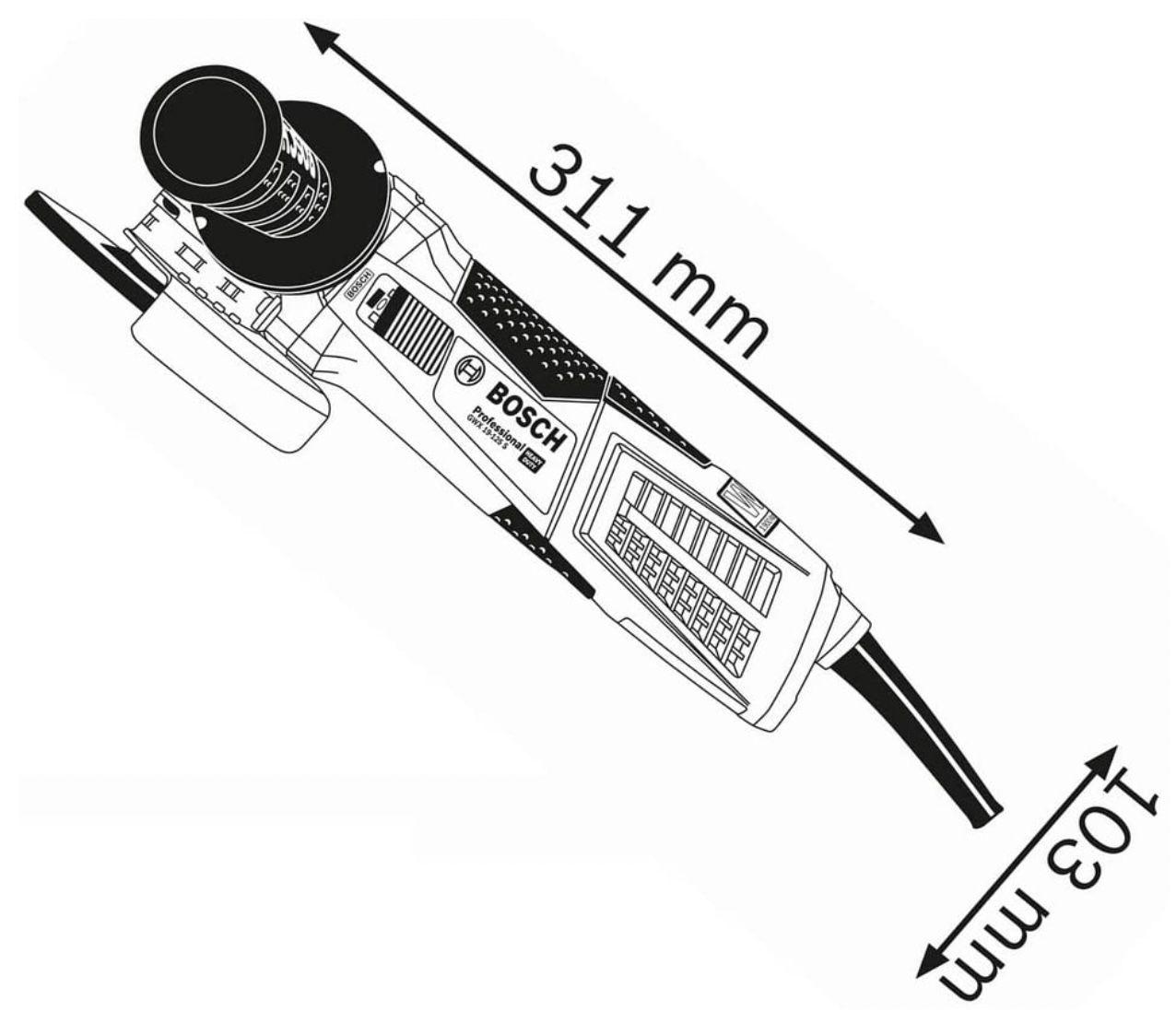 Bosch GWX 19 125 S Professional Winkelschleifer inkl. Anti Vibrationshandgriff für 139€ (statt 170€)