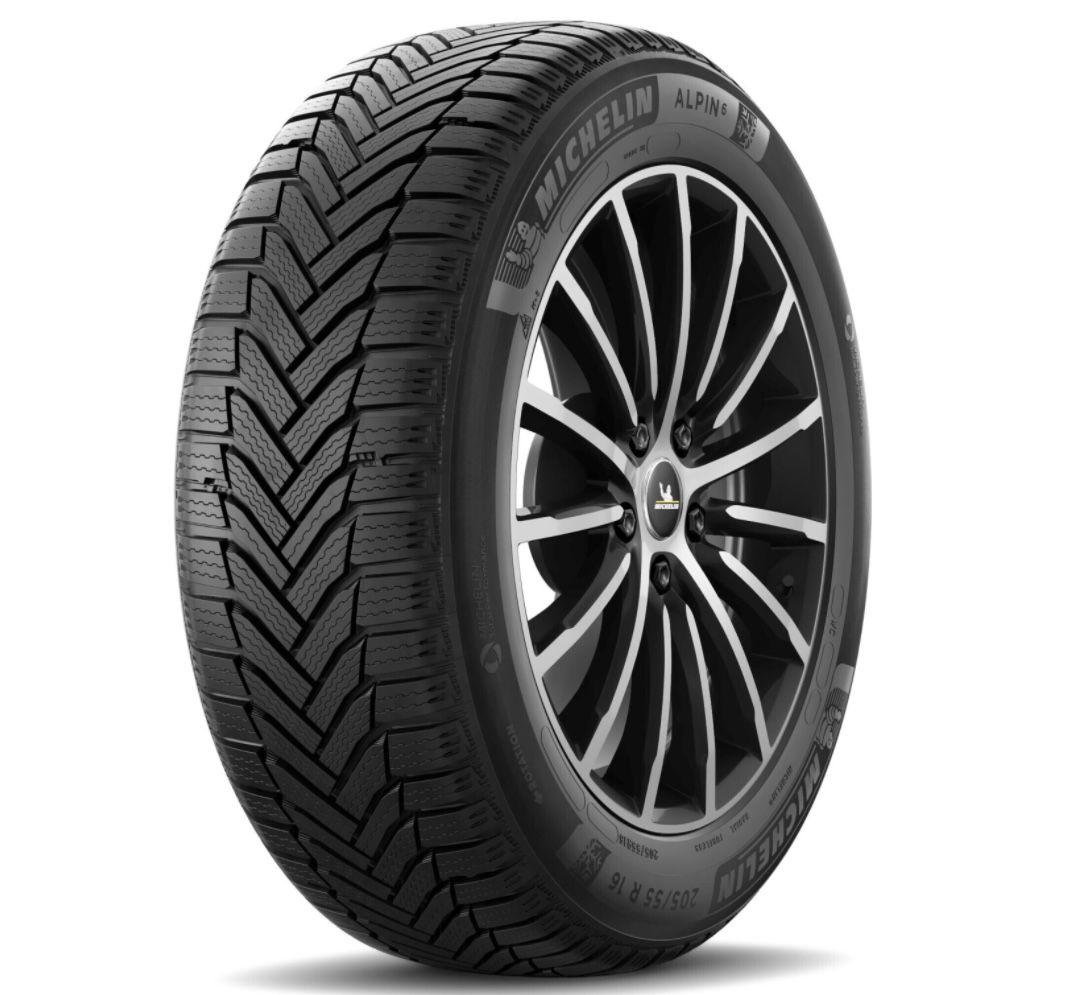 Michelin Alpin 6 205/55 R16 91H M+S Winterreifen für je 71,99€ (statt 82€)