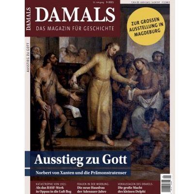 DAMALS Jahresabo Abo für 102,42€ + Prämie: 100€ Amazon Gutschein