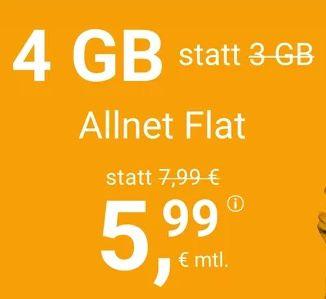 winSIM: o2 Allnet-Flat mit 4GB für 5,99€ oder 11GB LTE für 11,11€mtl. – nur 3 Monate Laufzeit