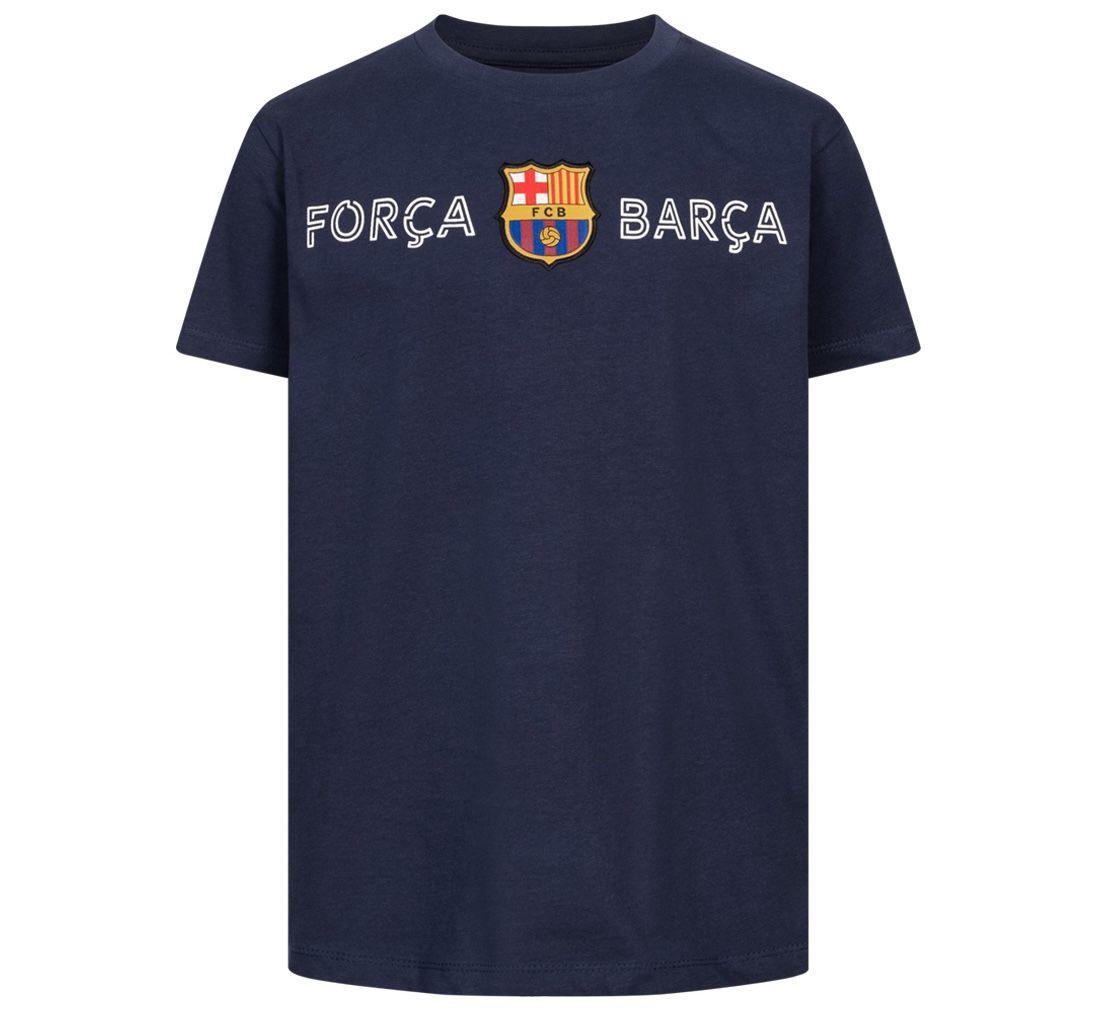FC Barcelona Forca Barca Kinder T Shirt für 7,30€ (statt 14€)