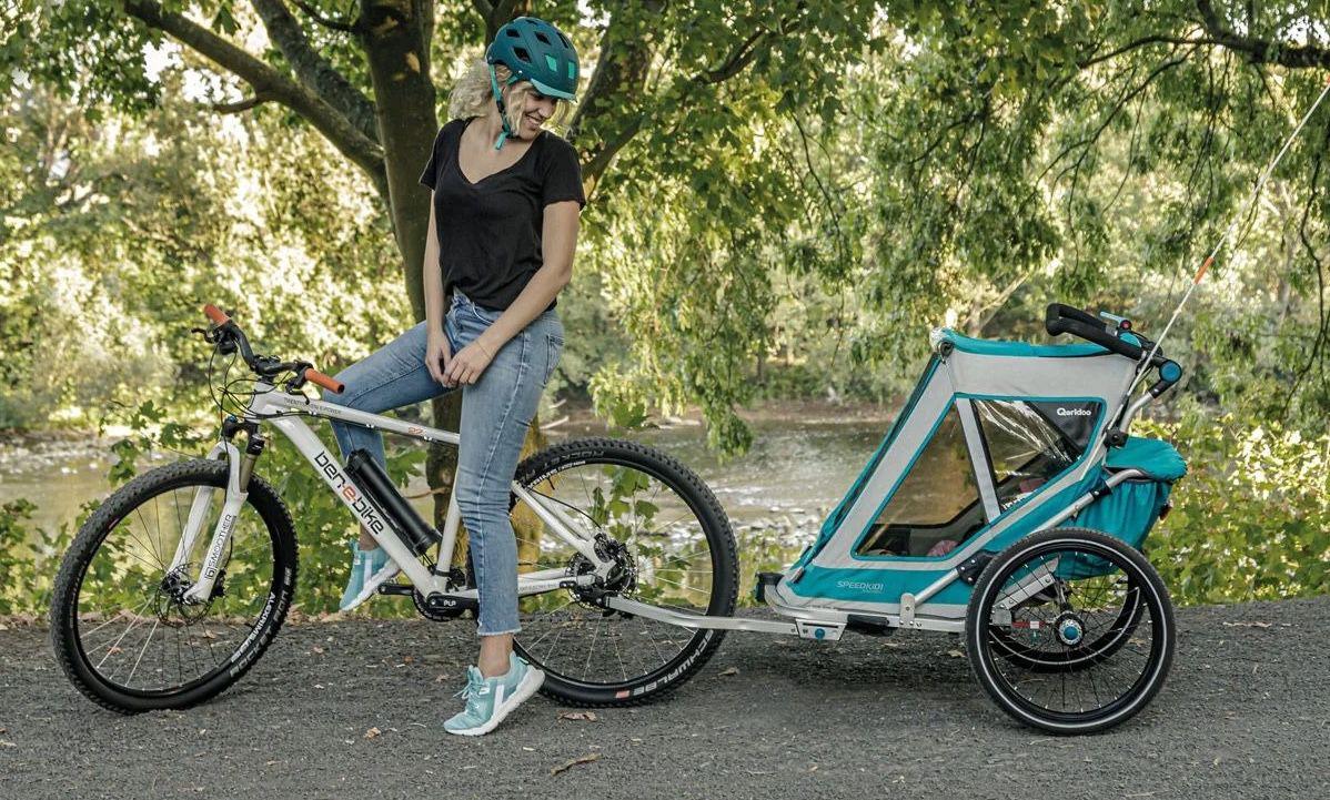 Qeridoo Speedkid1 (2020) Kindertransportanhänger für 249€ (statt 299€)
