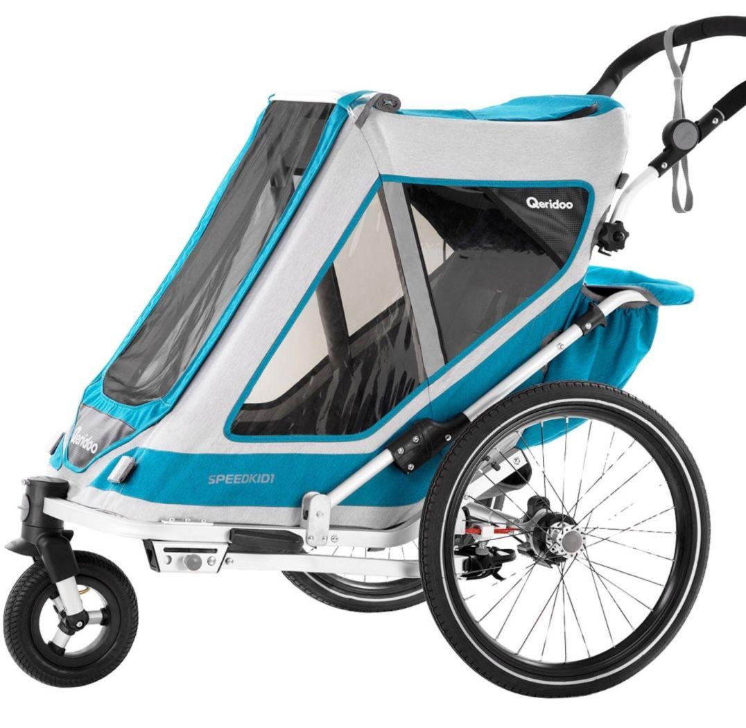 Qeridoo Speedkid1 (2020) Kindertransportanhänger für 229€ (statt 304€)