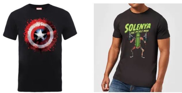 Pullover + T Shirt mit versch. Motiven (Marvel, Pokemon uvm.) für 24,99€ (statt 45€)