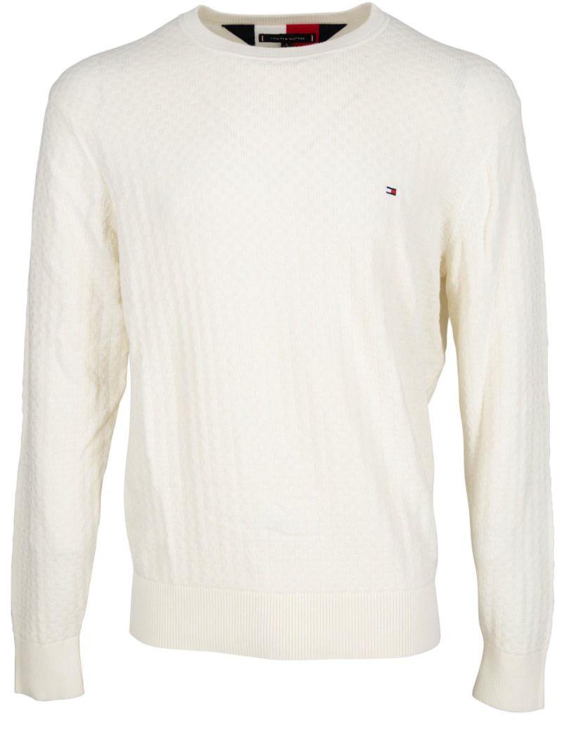 Tommy Hilfiger Struktur Pullover aus Baumwolle für 59,99€ (statt 85€)