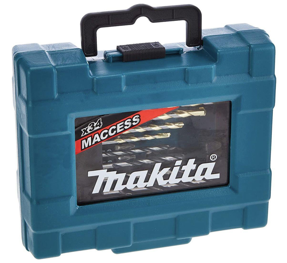 Makita D 36980 Bohrer Bit Set (34tlg) für 16,29€ (statt 23€)