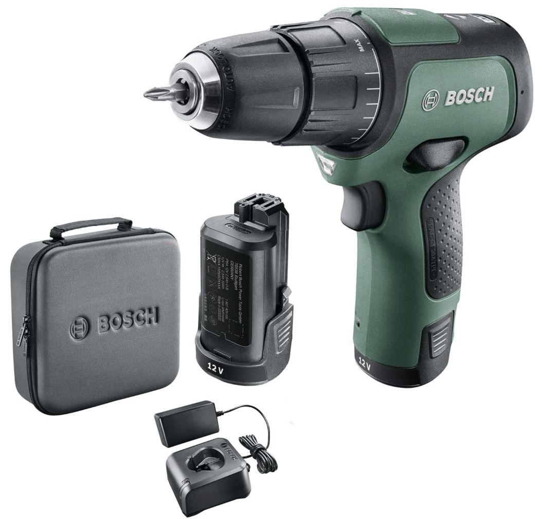 Bosch EasyImpact 12 Akkubohrschrauber inkl. 2 Akkus & Tasche für 76,89€ (statt 102€)
