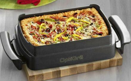 OptiGrill Zubehör: Tefal Snacking & Baking Backschale + Waffelplatten mit Schöpfkelle für 94,99€ (statt 110€)