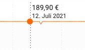 HUGO Herren Steppjacke Balto2121 in Orange für 158,22€ (statt 190€)   M, L, XL