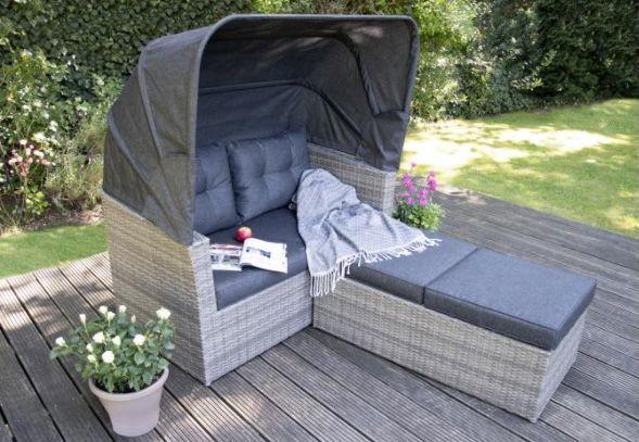 Abholung: bellavista Long Island Multifunktions Lounge mit Sonnendach ab 449,99€(statt 599€) + 80€ Gutschein geschenkt