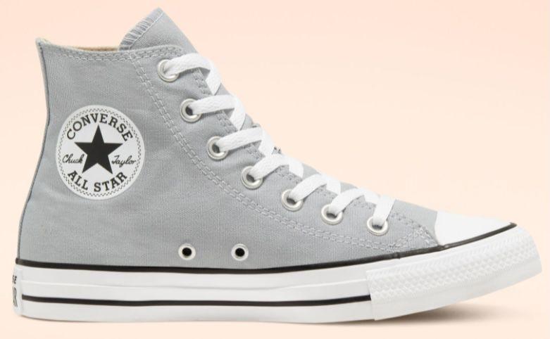 Converse Chuck Taylor All Star Low Top in Grau für 23,49€(statt 49€) oder als High Top für 27,49€ (statt 56€)