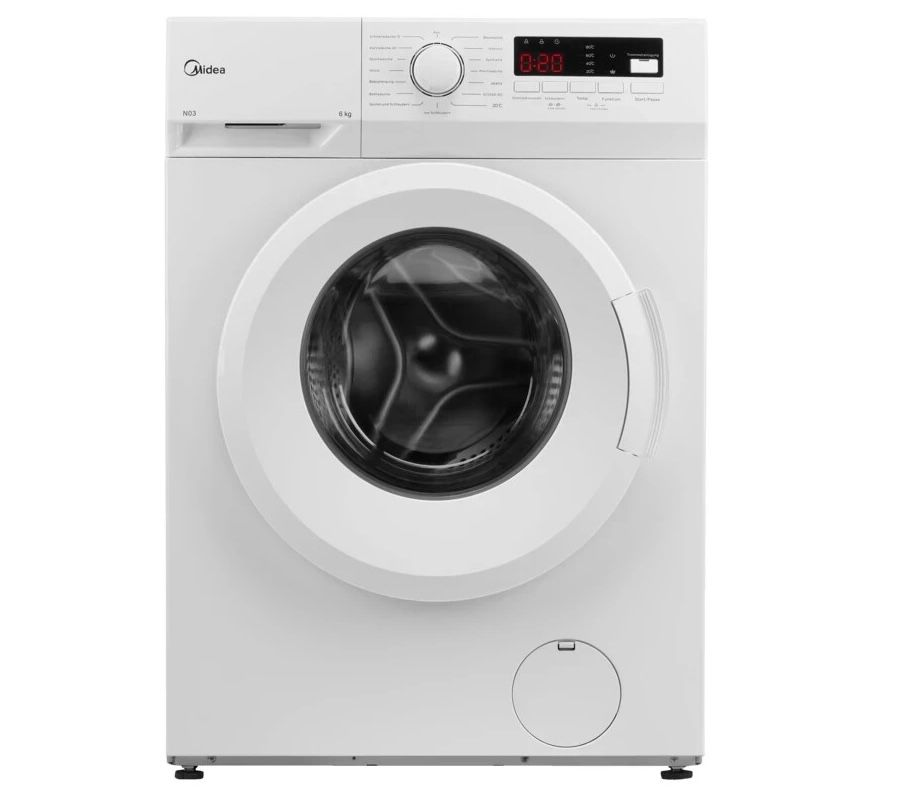 MIDEA MFNEW60-105 Waschmaschine (6 kg, 1.000 U/Min.) ab 164€(statt 244€)