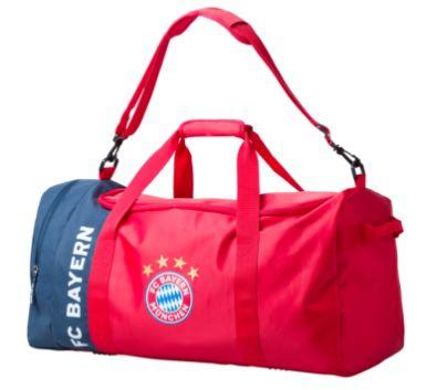 FC Bayern München Sporttasche (65 Liter) für 15,46€ (statt 30€)