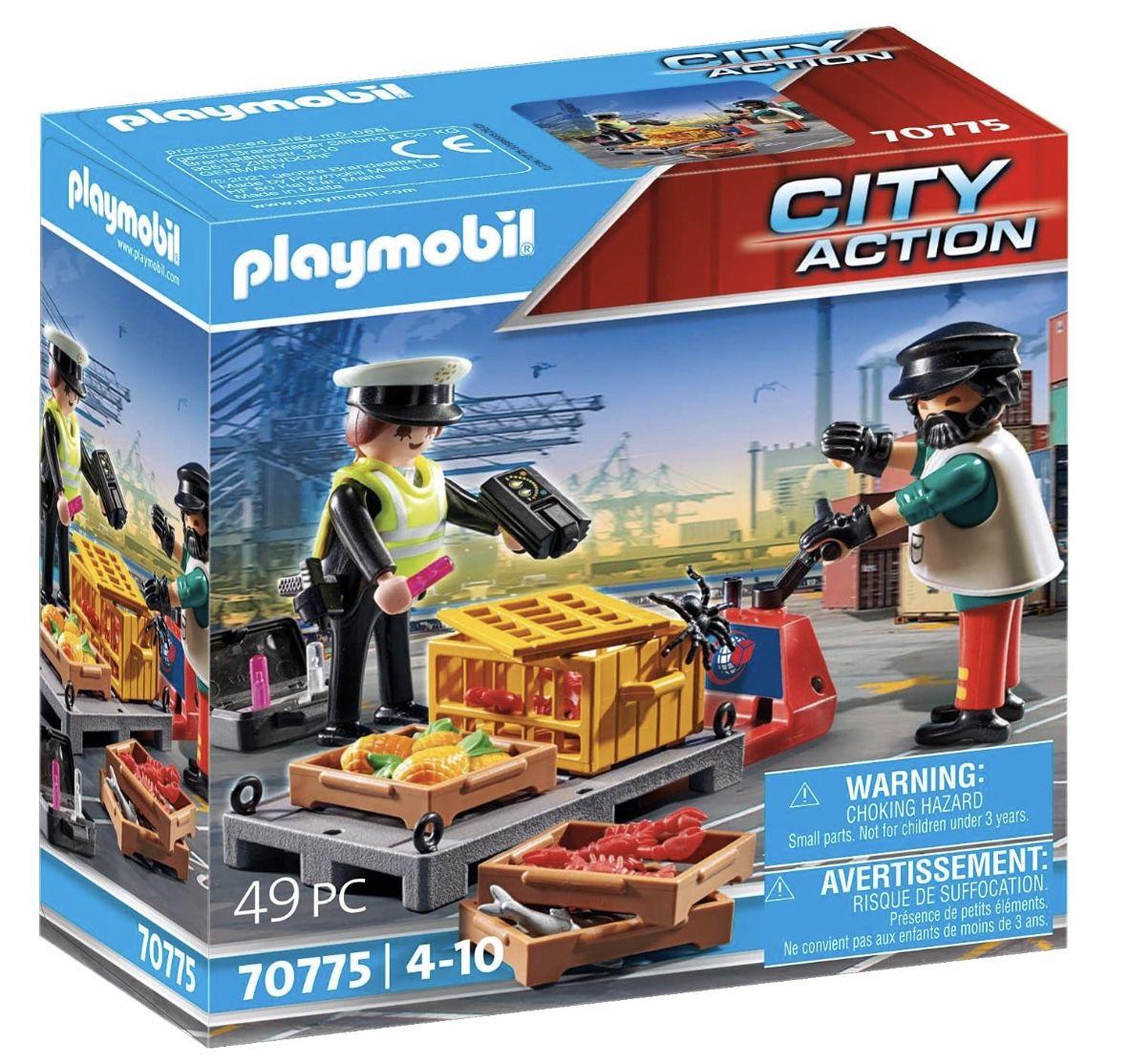 Playmobil 70775 – Zollkontrolle für 7,99€ (statt 10€)