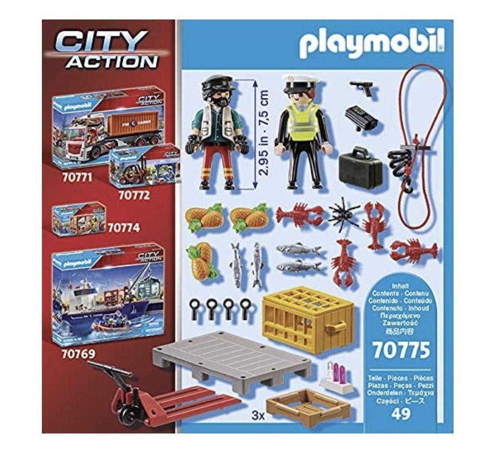 Playmobil 70775   Zollkontrolle für 7,99€ (statt 10€)