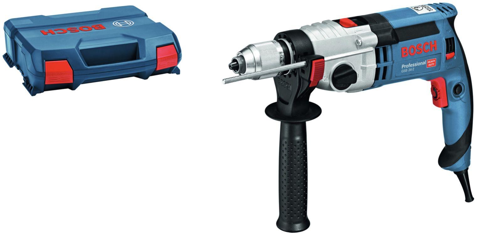 Bosch Professional GSB 24 2 Schlagbohrmaschine für 127,99€ (statt 160€)