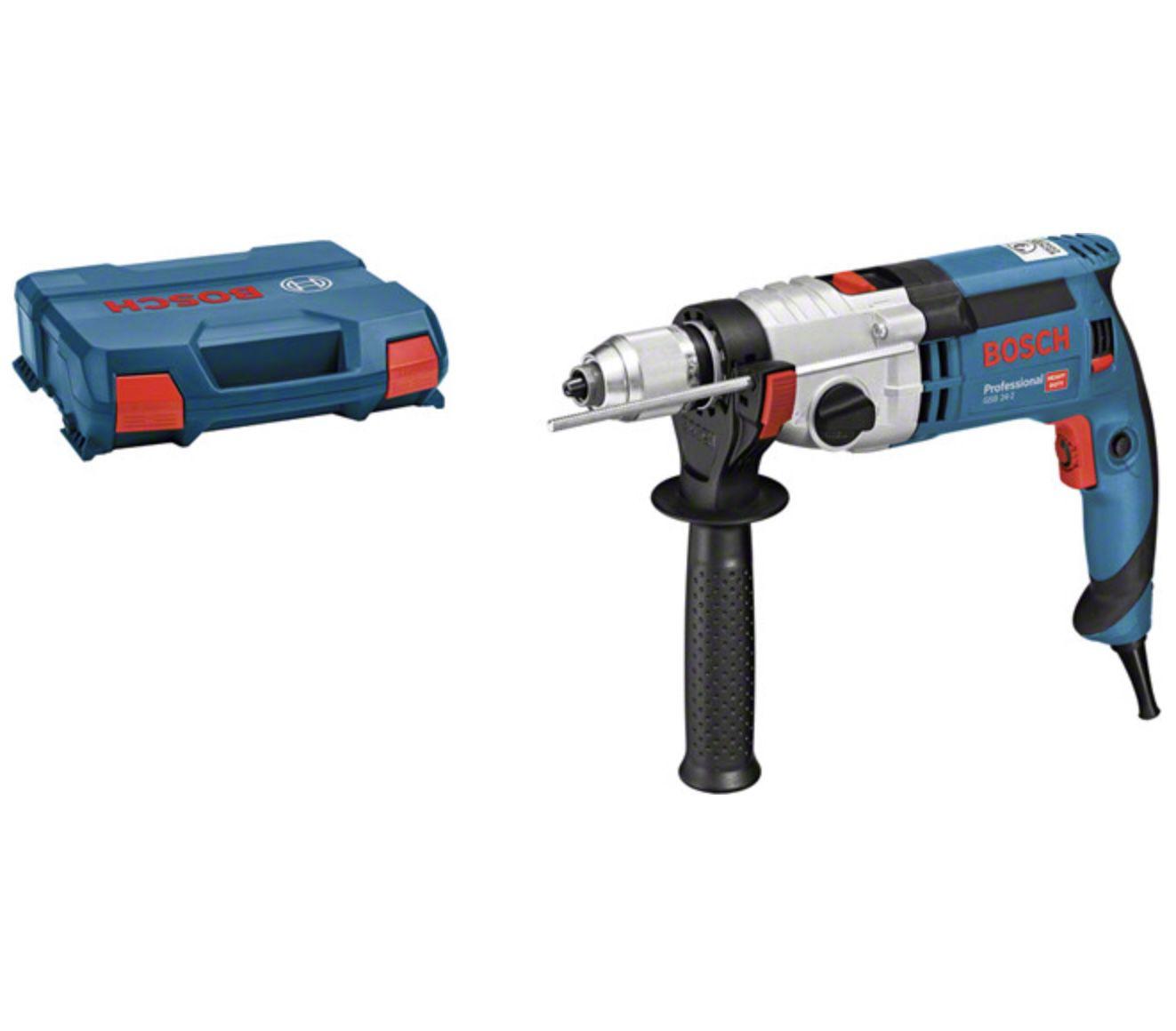 Bosch Professional GSB 24-2 Schlagbohrmaschine für 128,99€ (statt 152€)