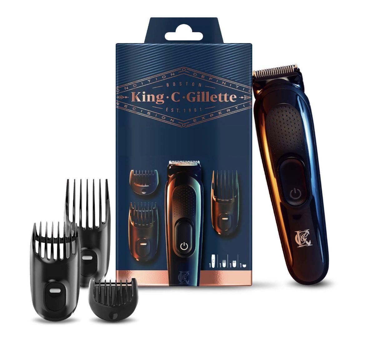 King C. Gillette kabelloser Barttrimmer + 3 Aufsätzen für 21,40€ (statt 35€)