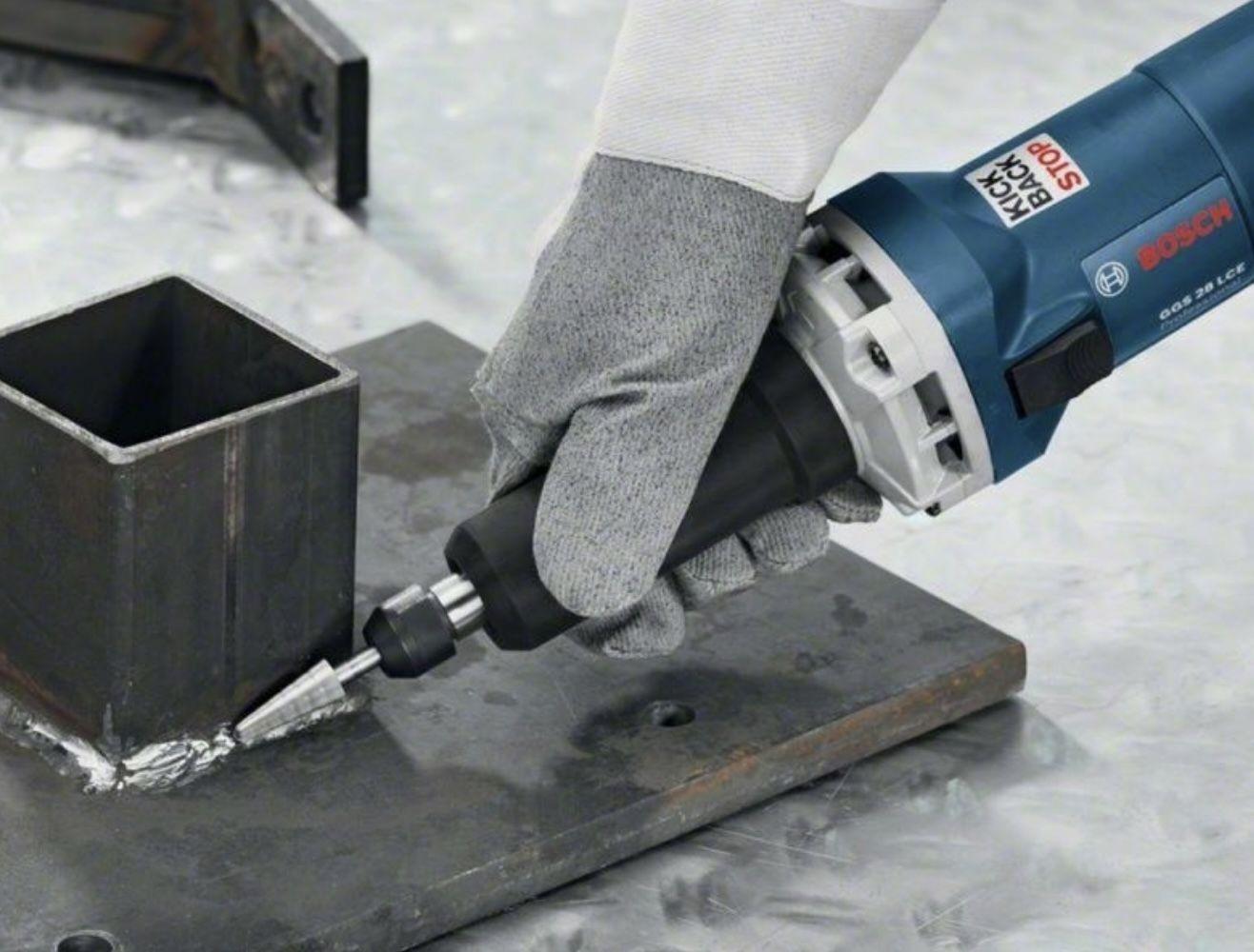Bosch Professional GGS 28 LCE Geradschleifer inkl. Spannzange 6mm & 2x Maulschlüssel SW 19 für 160,29€ (statt 211€)