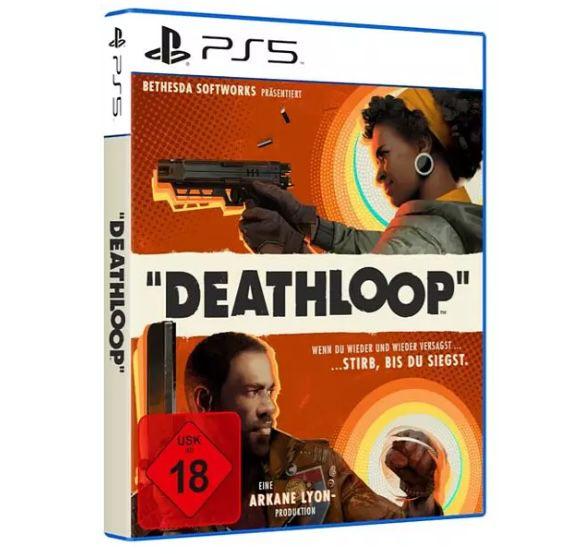 Deathloop (PS 5) + Wireless Controller für 96€ (statt 123€)