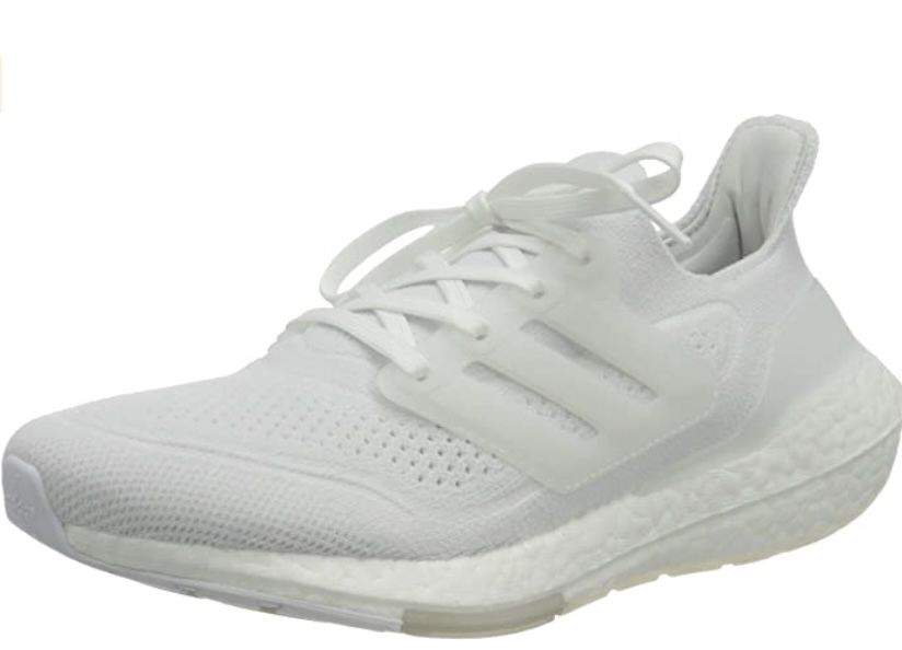 adidas Performance UltraBoost 21 Damen Laufschuhe in Weiß ab 85,97€ (statt 101€)
