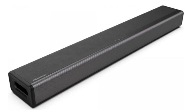 Hisense HS214 2.1 Soundbar mit Bluetooth + integriertem Subwoofer für 79€ (statt 95€)