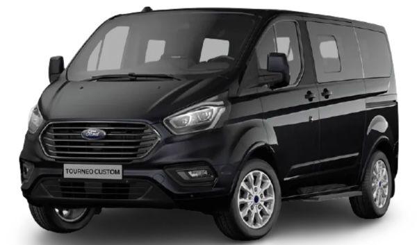 Privat: Ford Tourneo Custom mit Sitzheizung & Einparkhilfe für 209€ mtl.   LF: 0.36