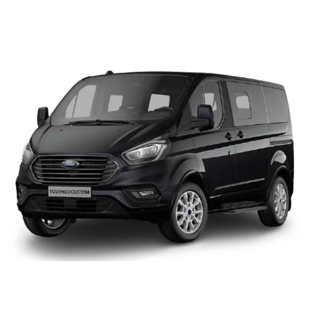 Privat: Ford Tourneo Custom mit Sitzheizung & Einparkhilfe für 209€ mtl. – LF: 0.36