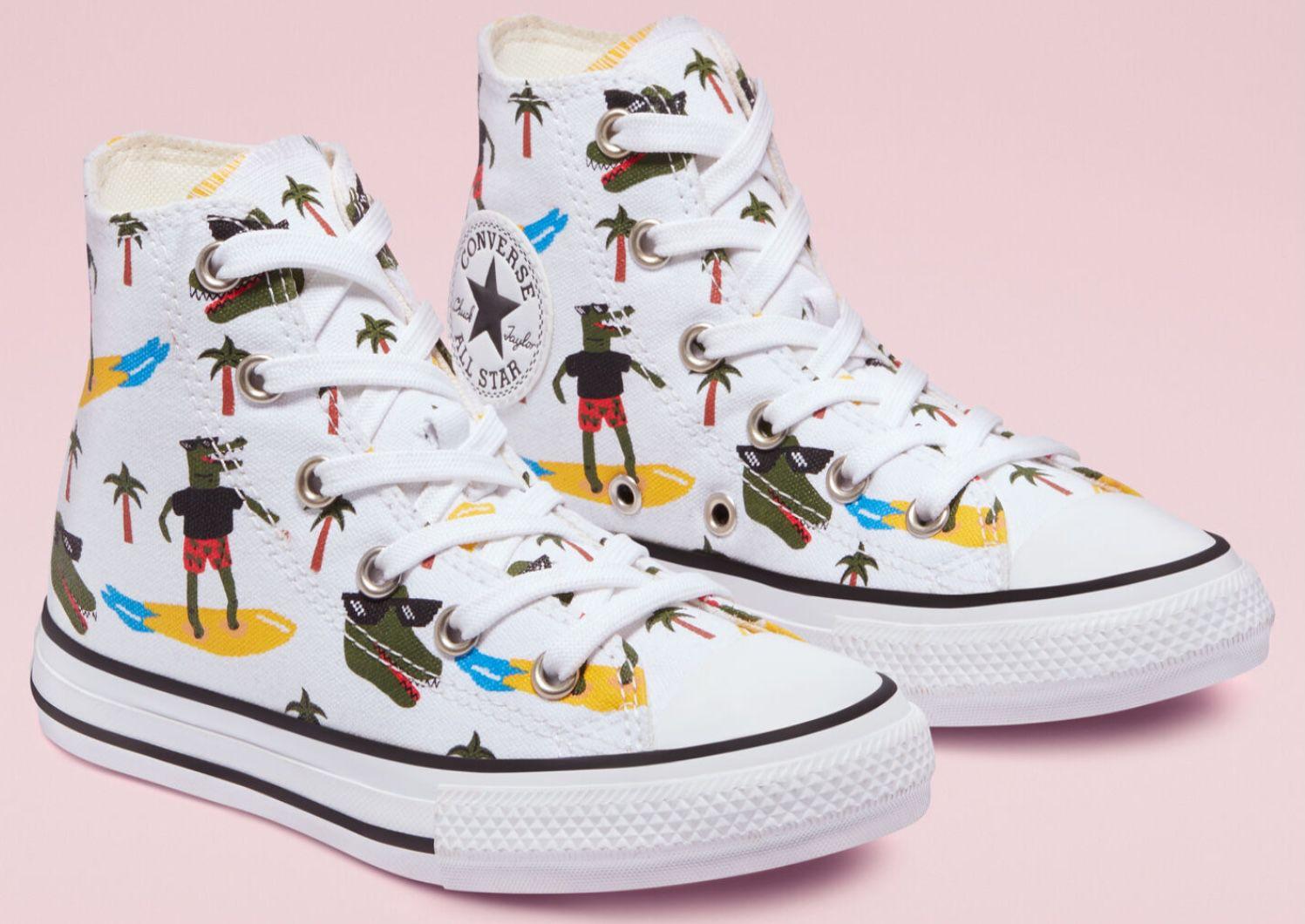 Converse Chuck All Star Croco Surf High Top Junior Sneaker für 27,49€ (statt 45€)