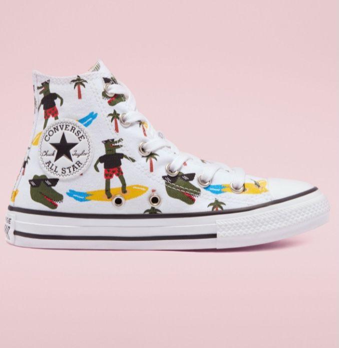 Converse Chuck All Star Croco Surf High-Top Junior Sneaker für 27,49€ (statt 45€)