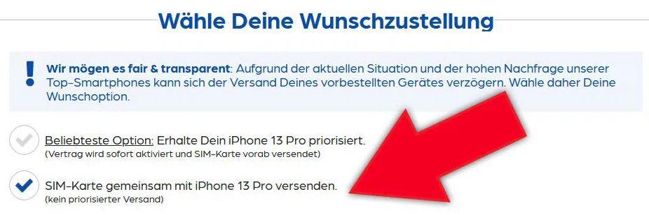 Apple iPhone 13 mit 128GB für 179,95€ + Vodafone Allnet Flat mit bis 45GB LTE/5G für 44,99€ mtl. + 100€ Wechselbonus möglich