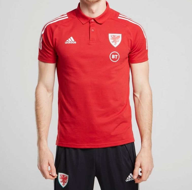 adidas Wales Condivo 20 Poloshirt für 12€ (statt 25€)