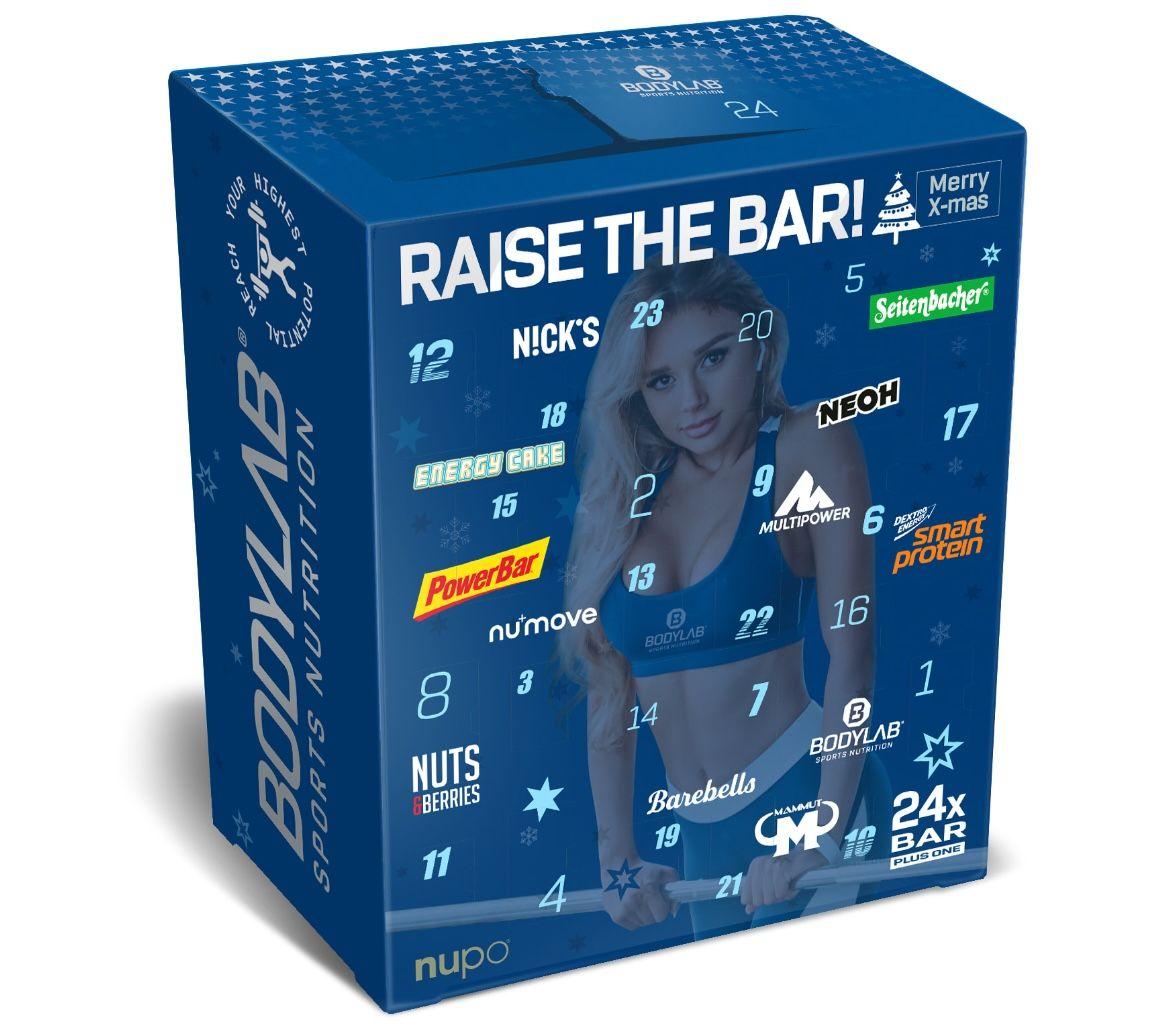 Bodylab24 Protein-Riegel Adventskalender 2021 für 41,90€ (statt 53€)