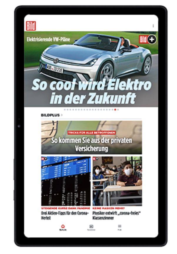 Knaller!🔥 24 Mon. BILD+ Premium + Samsung Galaxy Tab A7 32GB für 7,99€ mtl. (zusammen 191€ statt 438€)