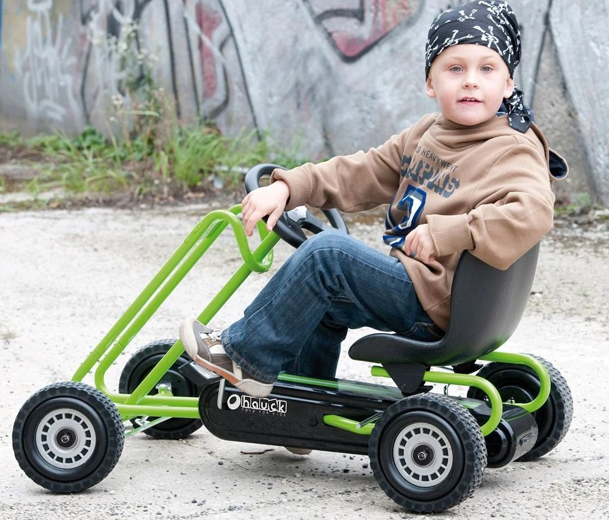 Hauck Toys Traxx Lightning Go Kart für 74,99€(statt 108€)