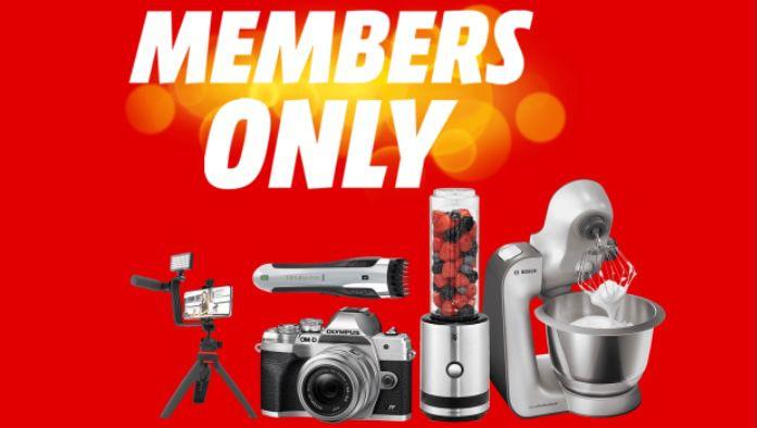 MediaMarkt Members Only Aktion   z.B. Bosch MUM59S81DE für 369€ (statt 399€)
