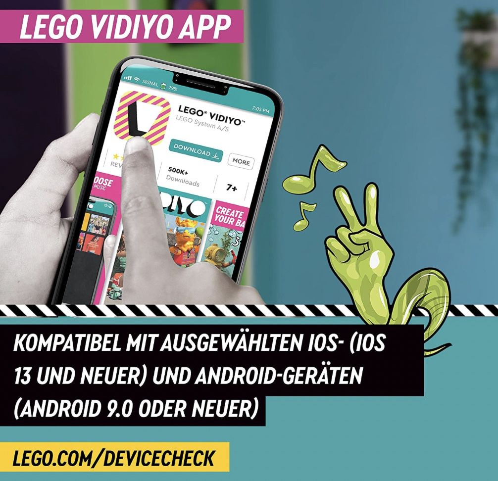 LEGO 43112 Vidiyo   Robo HipHop Car für 10,99€ (statt 18€)   Prime