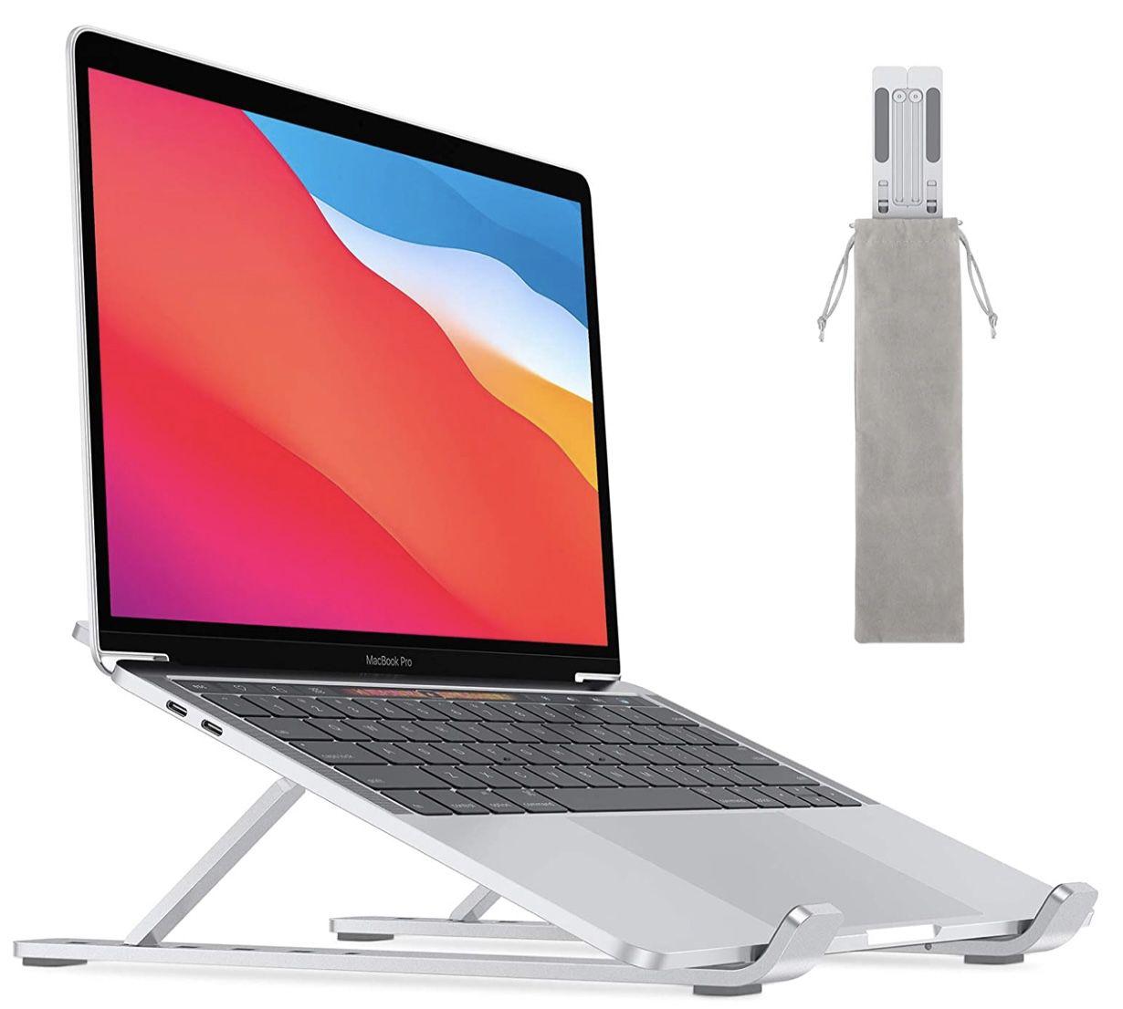 OMOTON Laptop Ständer für 10-15,6″ Laptops mit 6-stufiger Verstellfunktion für 9,99€ (statt 20€)