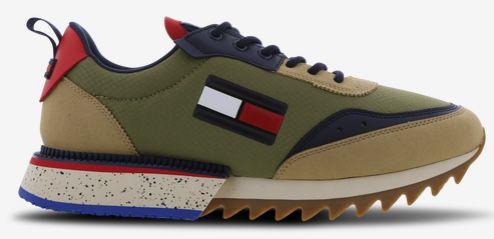 Tommy Jeans Cleated Struktur Runner Mix Sneaker für 59,99€(statt 120€)