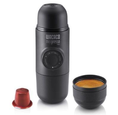 Wacaco Minipresso tragbare Espressomaschine für Nespressokapseln für 33,95€(statt 54€)
