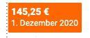 Auerhahn Mahno Besteck 60 teilig 18/10 mattiert für 99,99€ (statt 145€)