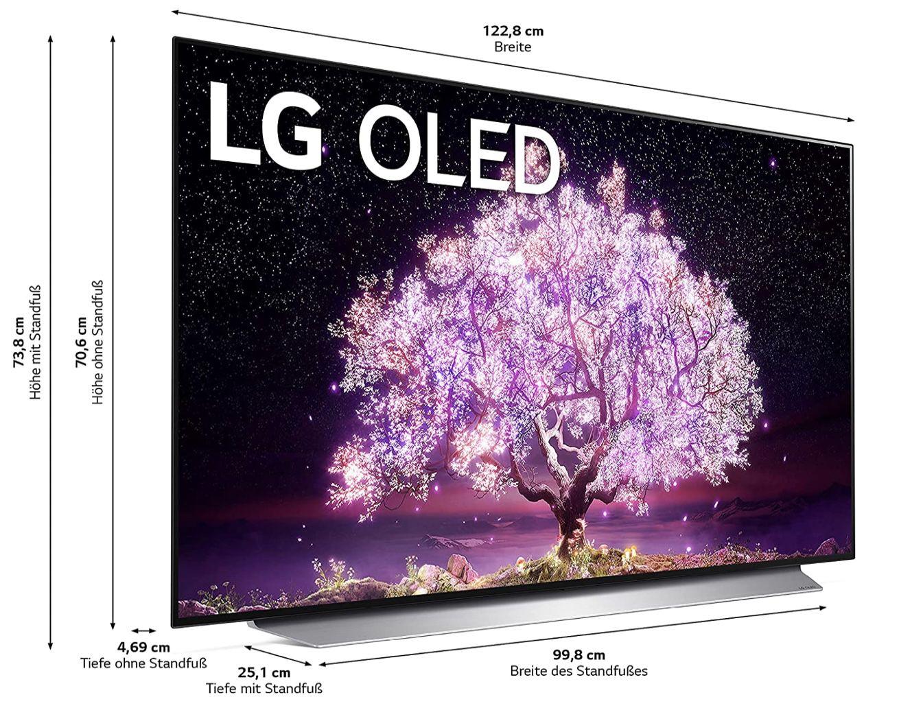 LG OLED55C17LB   55 UHD Fernseher für 1.199€ (statt 1.373€) + 150€ Cashback