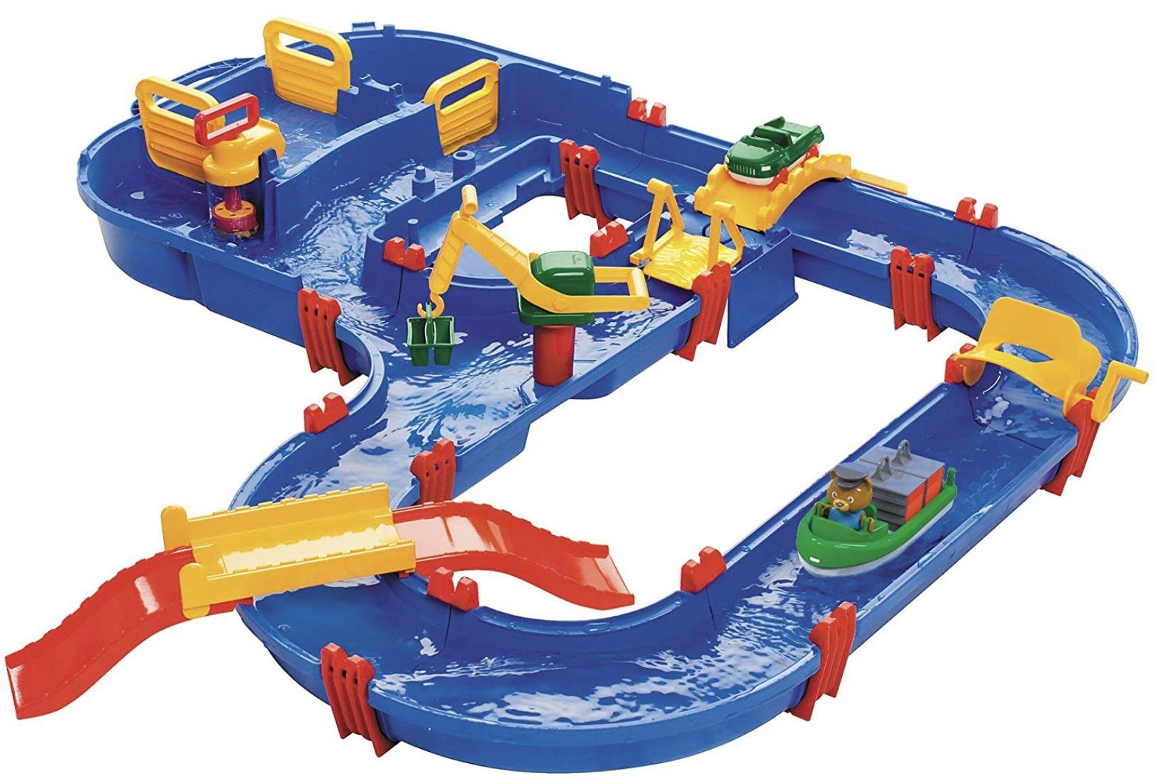 """Aquaplay 1528 – 32-teiliges Wasserbahn-Set """"Megabridge"""" für 33,94€ (statt 42€)"""