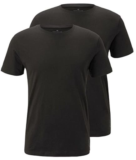 2er Pack Tom Tailor Basic T Shirt in Regular Fit für 8€ (statt 14€)   Prime